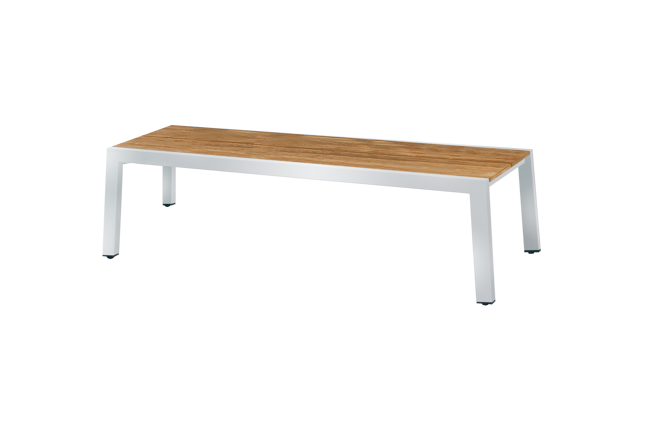 Picture of BAIA BENCH 145 (TEAK+STAINLESS STEEL)