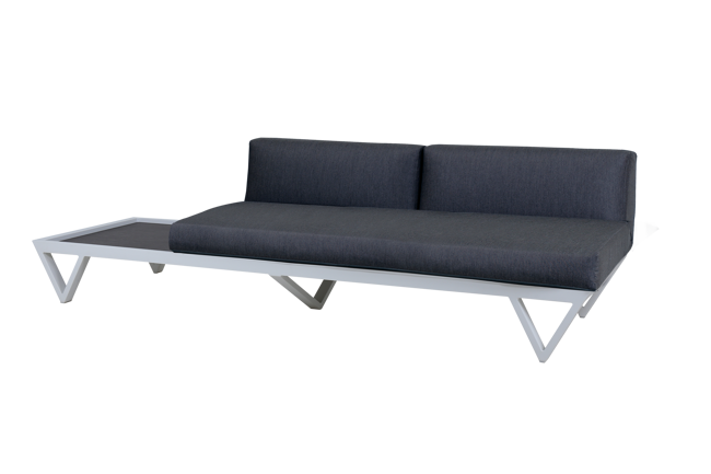 Picture of BONDI BELLE SOFA 2-SEATER SECTIONAL WITH TABLE (HPL)