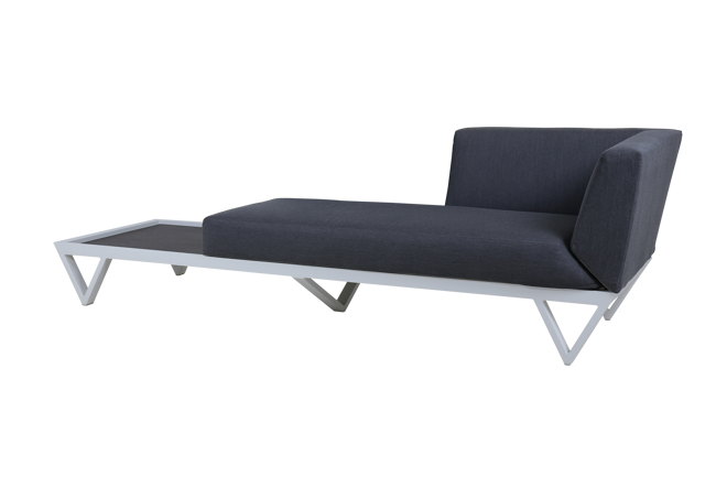 Picture of BONDI BELLE SOFA CHAISE WITH TABLE (HPL)