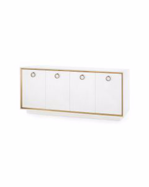 Picture of ANSEL-4-DOOR-CABINET-WHITE