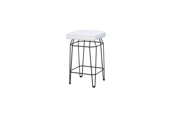 Picture of MATCH SQUARE COUNTER STOOL (STAMSKIN)