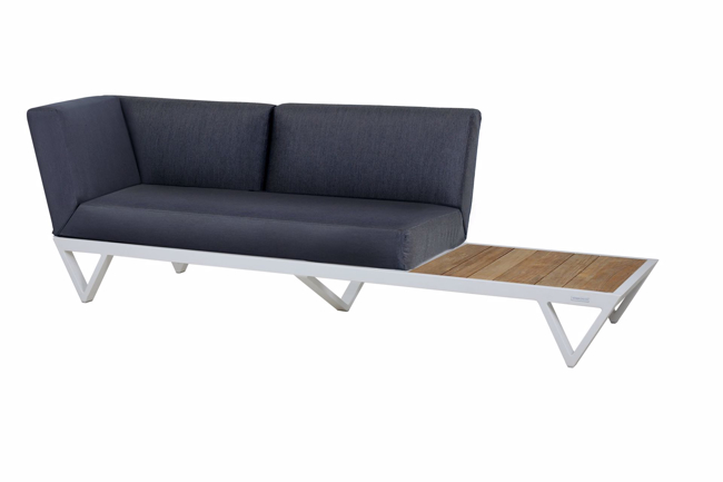 Picture of BONDI BELLE SOFA 2-SEATER WITH TABLE (TEAK)